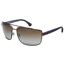 Buy Emporio Armani 0EA2018 Square Sunglasses Online at johnlewis.com