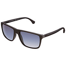 Buy Emporio Armani 0EA4033, Square Unisex Sunglasses Online at johnlewis.com