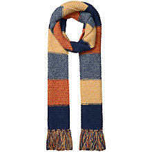 Buy Seasalt Craft Chunky Scarf, Multi Online at johnlewis.com