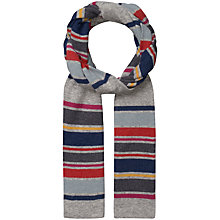 Buy Seasalt Stripe Scarf, French Navy Online at johnlewis.com