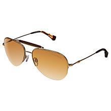 Buy Emporio Armani 0EA2020 Aviator Sunglasses Online at johnlewis.com