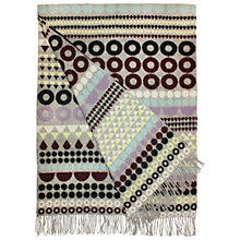Buy Margo Selby for John Lewis Argyle Throw Online at johnlewis.com
