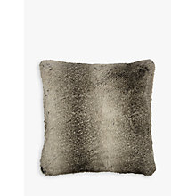 Buy John Lewis Faux Fur Cushion, Ombre Mocha Online at johnlewis.com