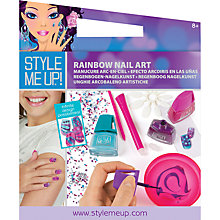 Buy Style Me Up DIY Rainbow Nail Art Kit Online at johnlewis.com