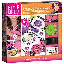 Buy Style Me Up Polka Dot Accessories Kit Online at johnlewis.com