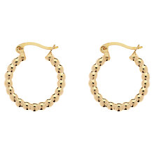 Buy Finesse Small Hoop Earrings Online at johnlewis.com