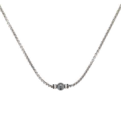 Buy Finesse Pearl and Swarovski Crystal Necklace Online at johnlewis.com
