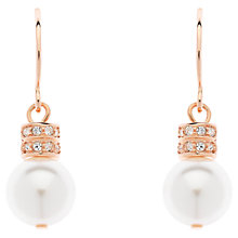 Buy Finesse Pearl and Swarovski Crystal Drop Earrings Online at johnlewis.com