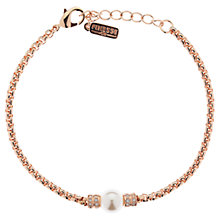 Buy Finesse Pearl and Swarovski Crystal Chain Bracelet Online at johnlewis.com