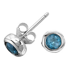 Buy Dower & Hall Stone Set Nugget Stud Earrings Online at johnlewis.com