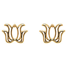 Buy Melissa Odabash Mini Lotus Stud Earrings Online at johnlewis.com