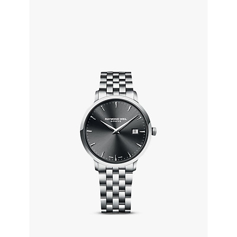 Buy Raymond Weil Men's Toccata Bracelet Strap Watch Online at johnlewis.com