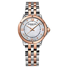 Buy Raymond Weil 5391-sp5-00995 Rose Gold And Stainless Steel Bracelet Watch Online at johnlewis.com