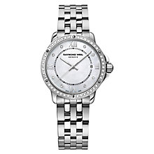 Buy Raymond Weil 5391-STS-00995 Tango Women's Diamond Watch, Silver Online at johnlewis.com