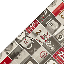 Buy John Lewis Copenhagen Doors Gift Wrap, 3m Online at johnlewis.com