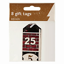Buy John Lewis Copenhagen Doors Gift Tags, Pack of 8 Online at johnlewis.com