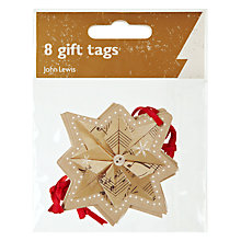 Buy John Lewis Musical Robin Gift Tags, Pack of 8 Online at johnlewis.com