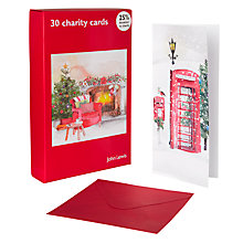 Buy John Lewis Bumper Box Home Christmas Cards, Pack of 30 Online at johnlewis.com