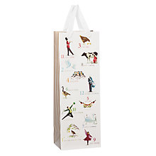 Buy John Lewis Twelve Days of Christmas Bottle Bag Online at johnlewis.com