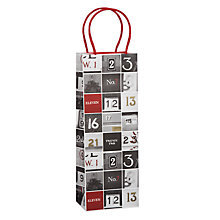 Buy John Lewis Copenhagen Doors Bottle Gift Bag Online at johnlewis.com