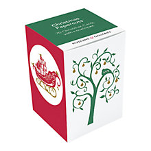 Buy Museums & Galleries Christmas Papercuts Christmas Cards, Box of 20 Online at johnlewis.com