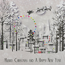 Buy Five Dollar Shake London Scene Christmas Cards, Box of 4 Online at johnlewis.com