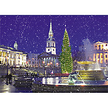 Buy Almanac Trafalgar Square in the Snow Charity Christmas Card Online at johnlewis.com
