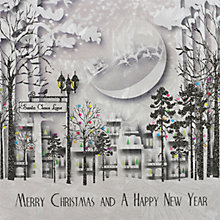 Buy Five Dollar Shake Santa Claus Lane Christmas Card Online at johnlewis.com