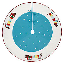 Buy John Lewis Sausage Dog Tree Skirt Online at johnlewis.com