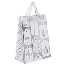 Buy John Lewis Croft Collection Christmas Tags Gift Bag, Small Online at johnlewis.com