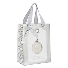 Buy John Lewis Croft Collection Gift Tag Gift Bag, Mini Online at johnlewis.com