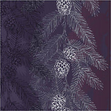 Buy Art File Silver Leaf Christmas Card, Box of 8 Online at johnlewis.com