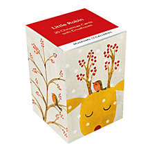 Buy Museums & Galleries Little Robin Christmas Cards, Box of 20 Online at johnlewis.com