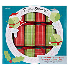 Buy John Lewis Flying Sprouts Crackers, Set of 6 Online at johnlewis.com