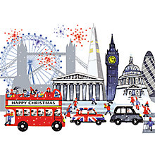 Buy Almanac London Scene Charity Christmas Card Online at johnlewis.com