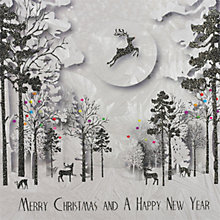 Buy Five Dollar Shake Woodland Scene Christmas Card Online at johnlewis.com