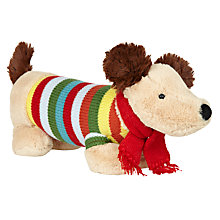 Buy John Lewis Sausage Dog Plush Toy Online at johnlewis.com