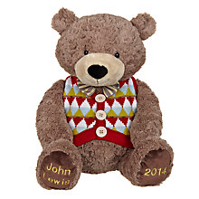 Buy John Lewis Large Lewis Bear Online at johnlewis.com