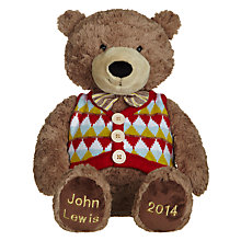 Buy John Lewis Medium Lewis Bear Online at johnlewis.com