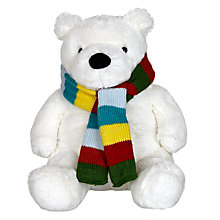 Buy John Lewis Polar Bear Plush Toy Online at johnlewis.com