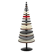 Buy John Lewis Felt Tabletop Tree, Multi Online at johnlewis.com