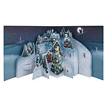 Buy John Lewis 3D Advent Book, Multi Online at johnlewis.com