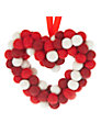 Felt So Good Heart Wreath