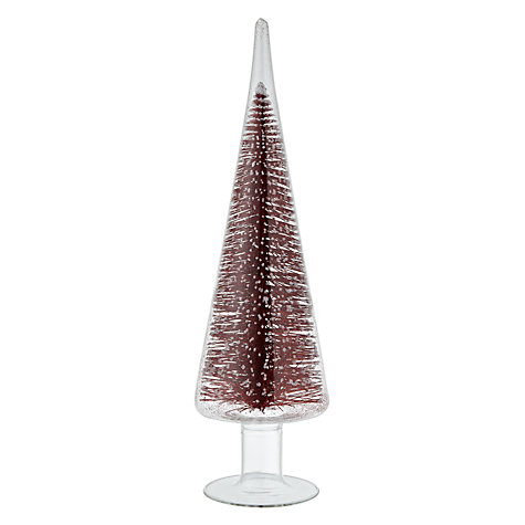Buy House by John Lewis Tree in Glass, Red Online at johnlewis.com