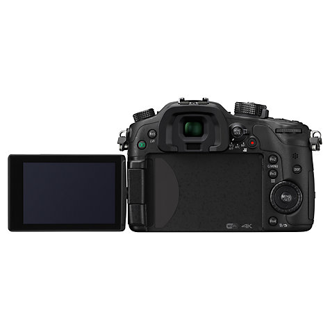 "Buy Panasonic Lumix DMC-GH4 Compact System Camera, UHD 4K, 16.05MP, OLED EVF, 3"" OLED Screen, Body Only Online at johnlewis.com"