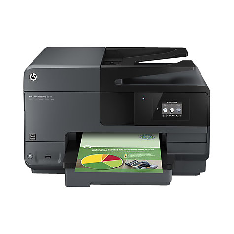 Buy HP Officejet Pro 8610 Wireless e-All-in-One Printer & Fax Machine, Instant Ink Compatible Online at johnlewis.com