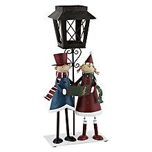 Buy John Lewis Carol Singers Tealight Lantern, Multi Online at johnlewis.com