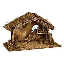 Buy John Lewis Large Nativity Crib Online at johnlewis.com
