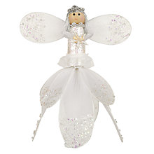 Buy John Lewis Fairy Tree Topper, White Online at johnlewis.com