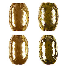 Buy John Lewis Gold Curling Ribbons, Set of 4 Online at johnlewis.com